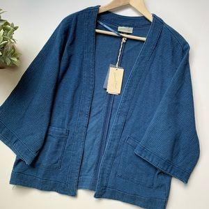 Universal Thread | Blue Tweed Oversized Cardigan